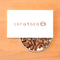 画像:カフェソラトコ ショップカード