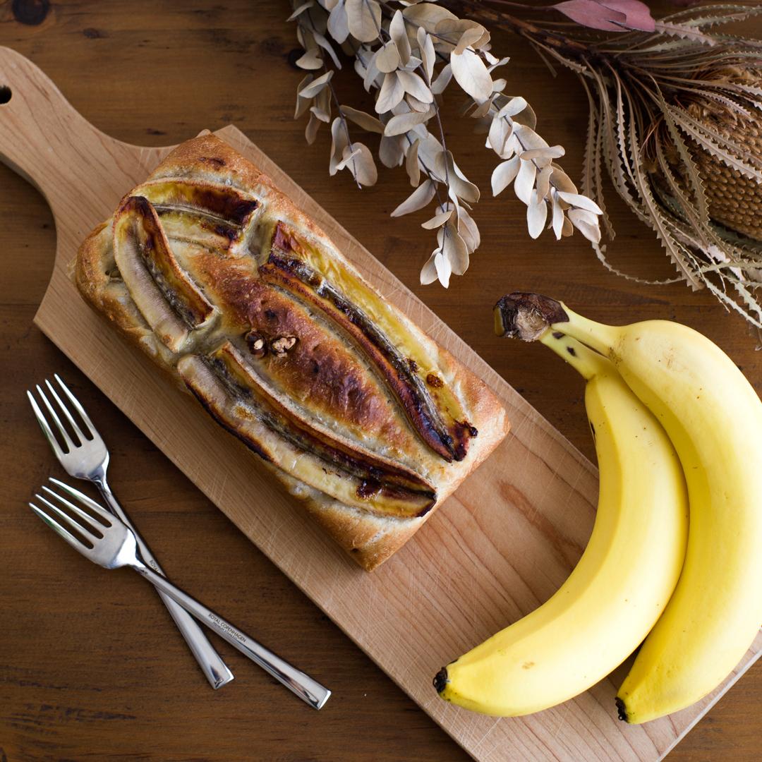 今日はパン『紅茶香る、まるごとバナナブレッド』