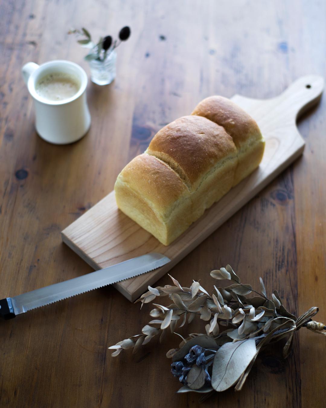 『基本の山形食パン』(塩・糖分ひかえめ)