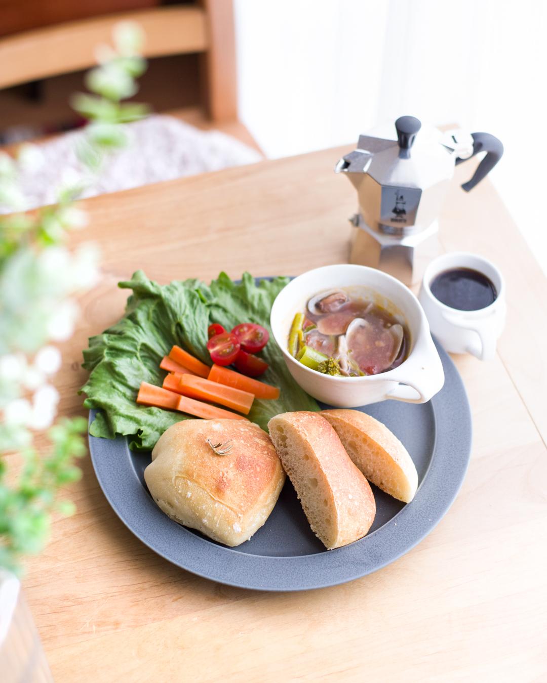 リュスティックとトマトスープ