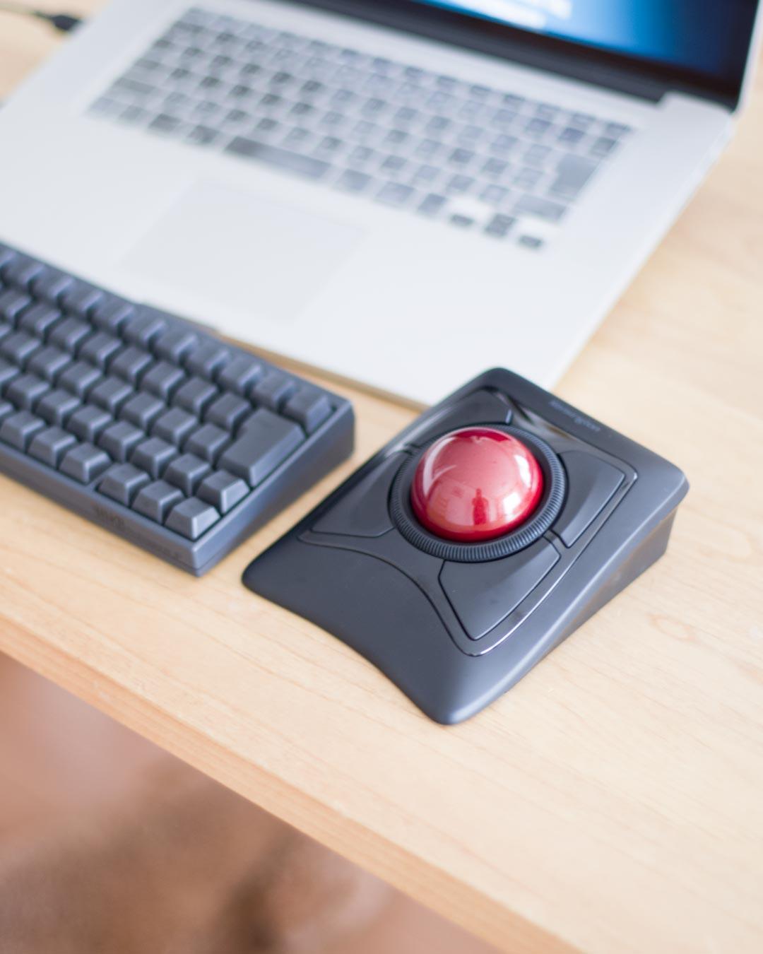 Kensington ケンジントンのトラックボール Expert Mouse は、Webデザインで使えるのか?