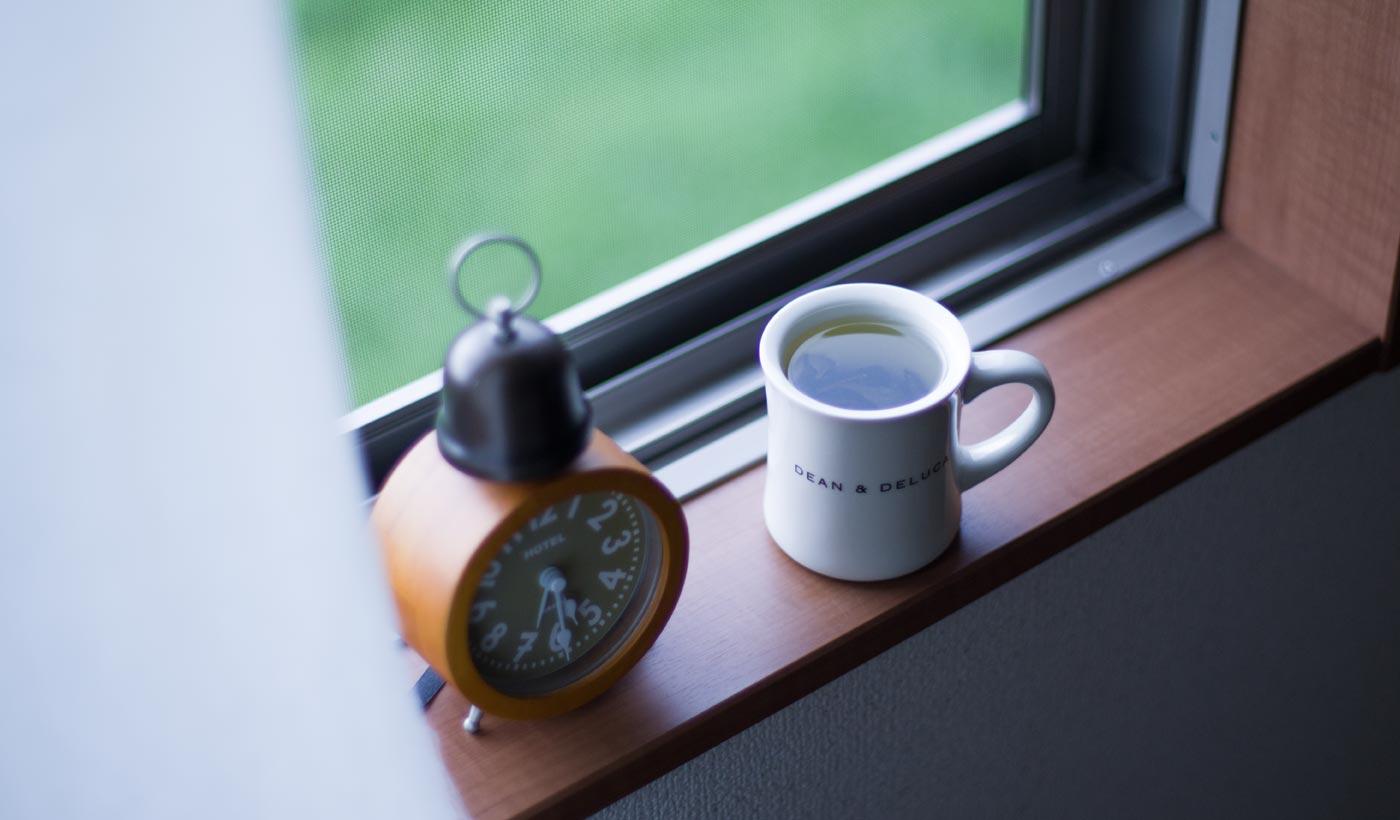 バターコーヒーではなくお茶を飲む
