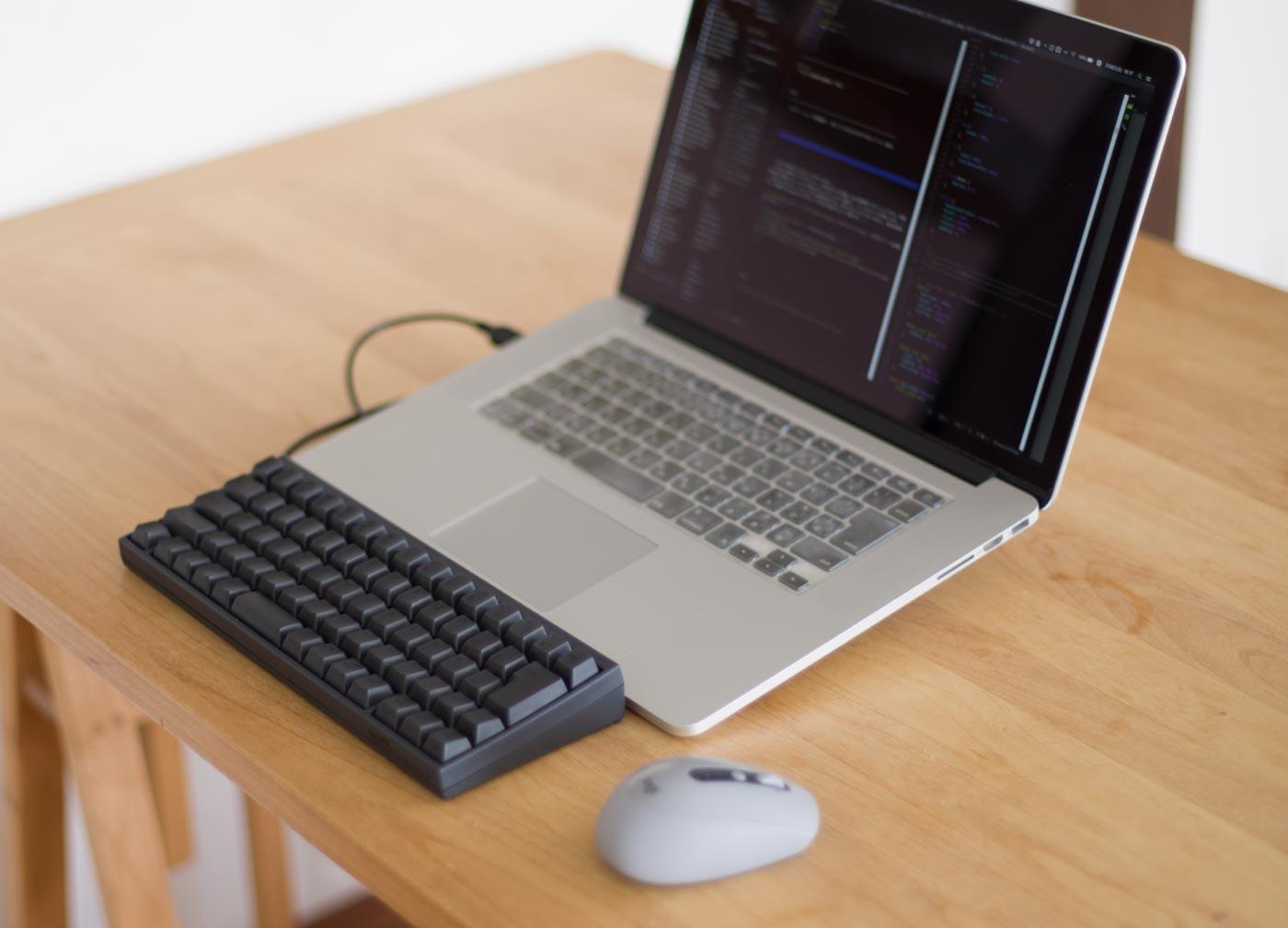 ロジクール M590 ミッドグレー macとhhkbにも馴染みます