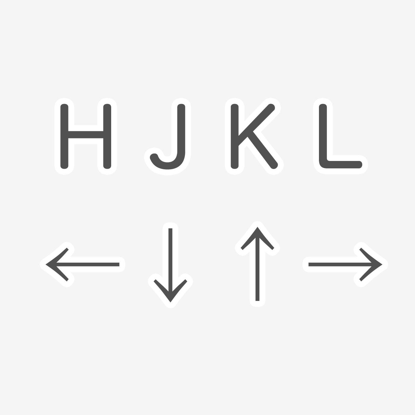 macで簡単に矢印 「←↓↑→」 を、打つ方法。