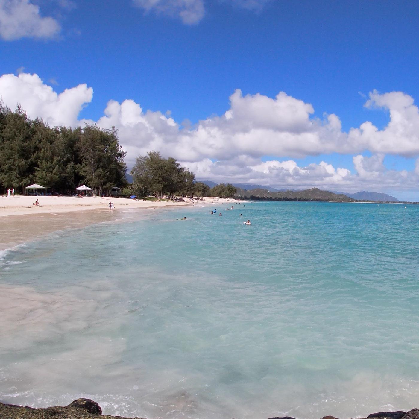 ハワイ旅行記録 10月 2日目 カイルア ラニカイ 地区へ