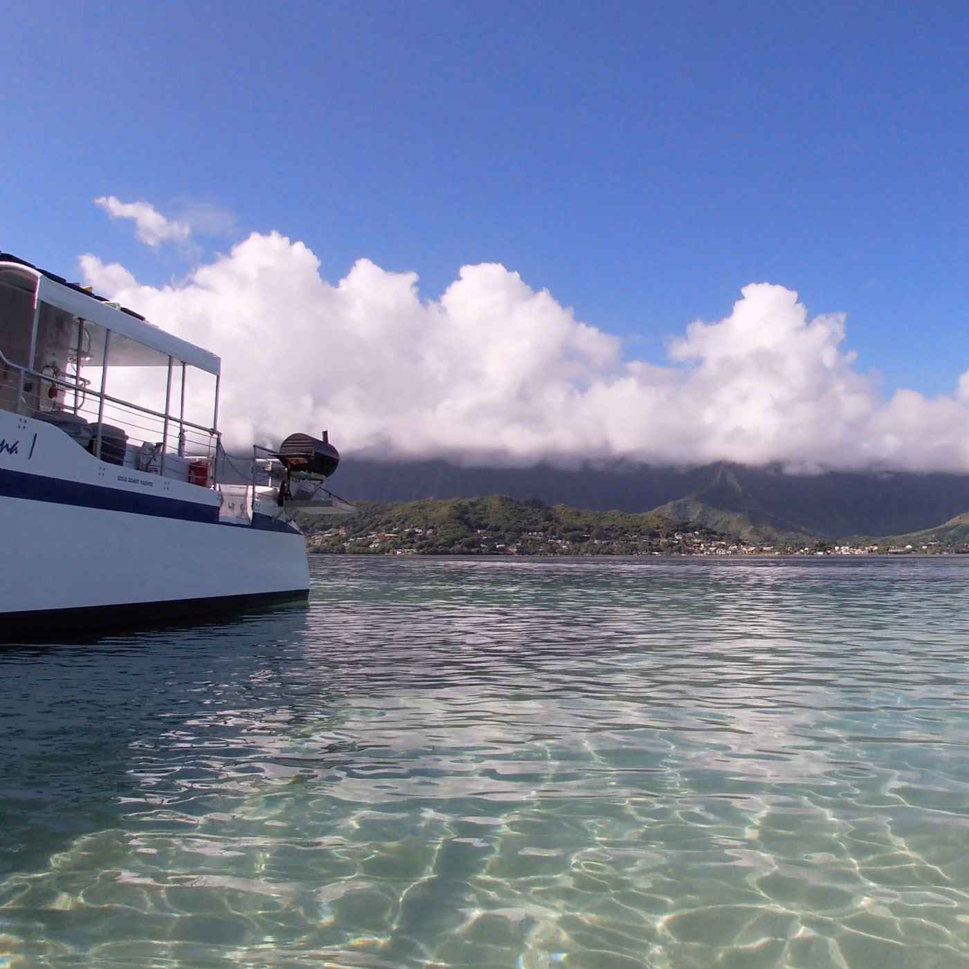 ハワイワイキキ旅行記録 10月 4日目 サンドバーツアーへ